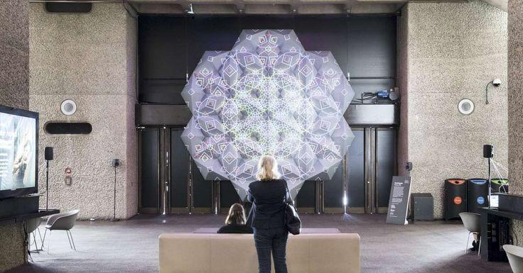 Numina: Patrones islámicos en la obra de la artista Zarah Hussain I Hussain's installation has been selected for the 2017 Lumen Prize longlist, which announces its shortlist on September 1