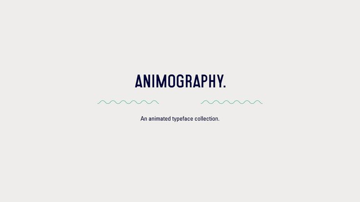 Animography Opening. This video celebrates the opening of www.Animography.net. It showcases the current and upcoming animated typeface colle...