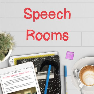 Speech Room Style is a blog for all things organizing and decorating your Speech Room
