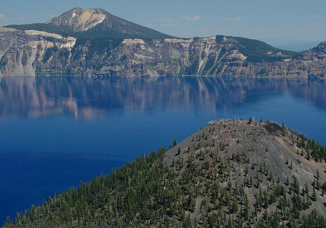 The Mt. Scott trail in Crater Lake National Park is an easy, gorgeous, and mostly empty dayhike.