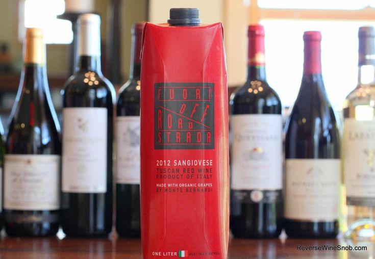 The Best Box Wines - Fuori Strada Off Road Sangiovese 2012