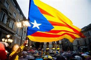 Miles de rally en Barcelona para la independencia de cataluña voto…