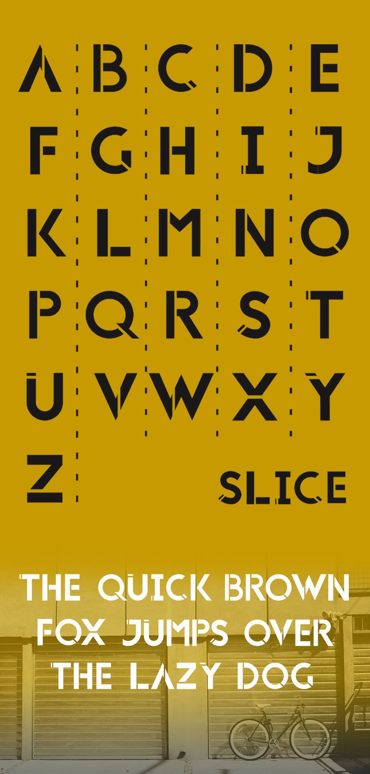 SLICE #typography