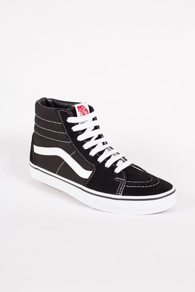 VANS SK8 HI Black Black White | Tiendas de ropa