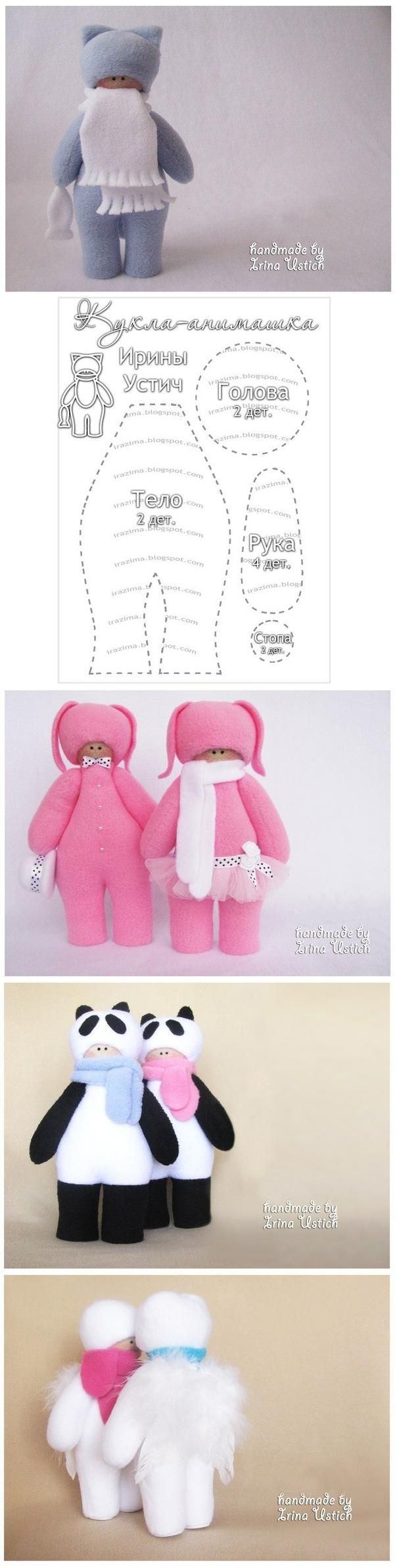 DIY Fabric Little Doll