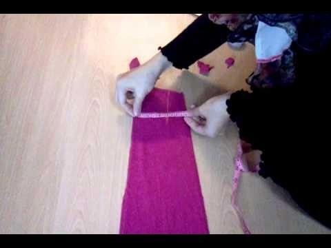 Teknik menjahit jubah:potong badan