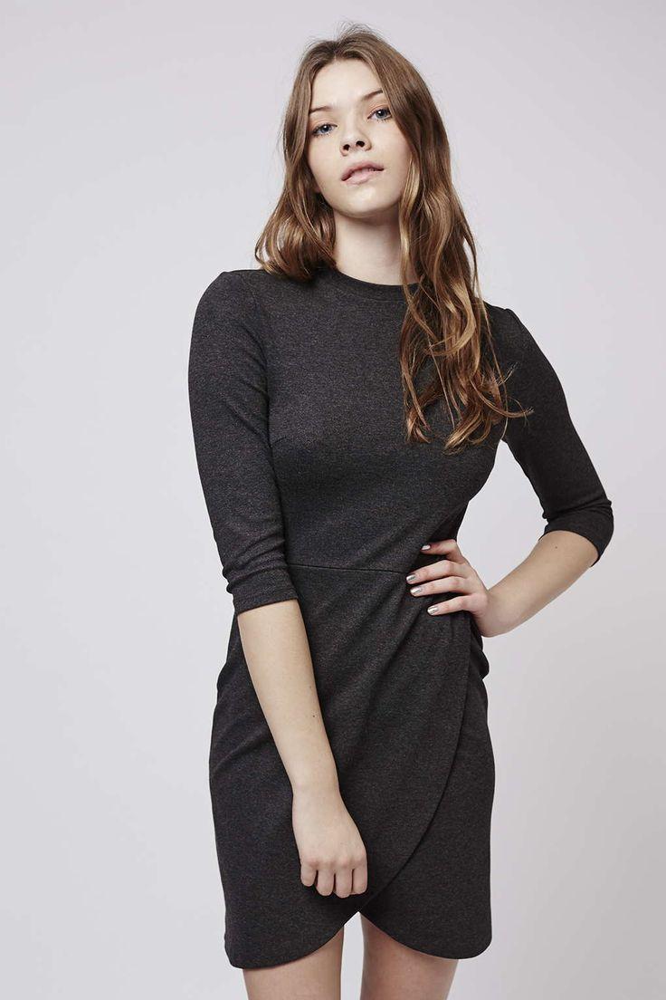 Photo 2 of Wrap Front Bodycon Dress