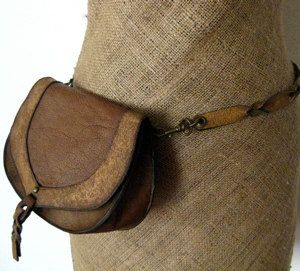 Convertible Belt Bag to Shoulder Bag in Rustic Brown
