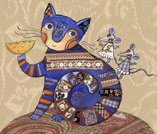 Сообщество иллюстраторов / Иллюстрации / Герасимова Дарья / кошка