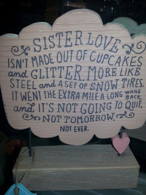 Sisters love <3