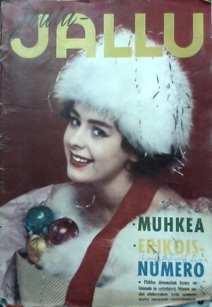 Jallu 1959, kansi Pirkko Mannola