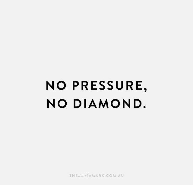 NO PRESSURE | NO DIAMOND