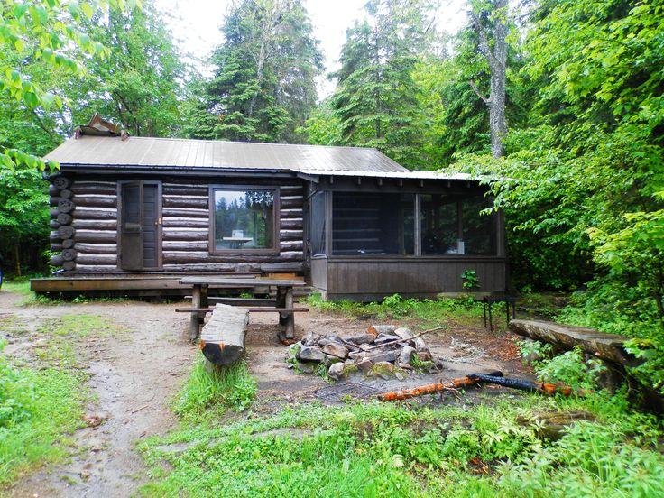 Algonquin Park Rain Lake Ranger Cabin - ExploreOntario.net