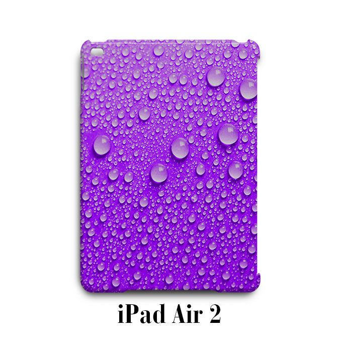 Water Drop Purple iPad Air 2 Case Cover Wrap Around