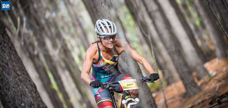 "Up for the challenge: Duffy wants to compete in the mountain bike at the Commonwealth Games next April. Flora Duffy is hoping to ""double up"" at the Commonwealth Games on the Gold Coast, Australia, by competing in the mountain bike as well as the triathlon."