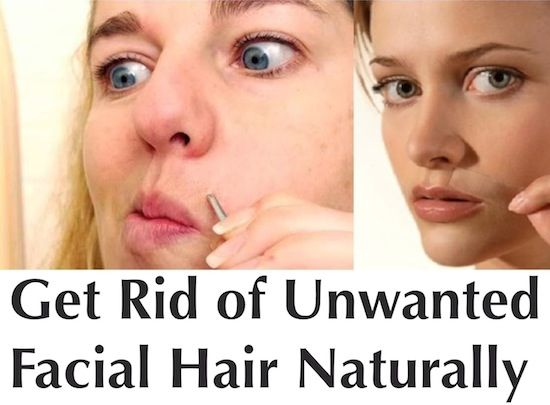 6 Natural Remedies for Getting Rid of Facial Hair: http://positivemed.com/2013/11/29/6-natural-remedies-getting-rid-facial-hair/