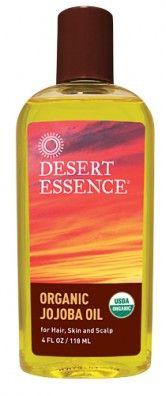 Top 10 Uses for Jojoba Oil. USDA #Organic @Desert Essence: Pure Jojoba, Olives Oil, Avocado Oil, Essence 100, Organizations Jojoba, Jojoba Oil, Desert Essence, Cleanser Hair, Essential Oil Eye Cream