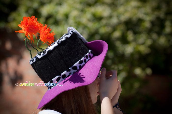 cappelli per feste di compleanno, cappello a cilindro, cappello fai da te, cappello feltro,