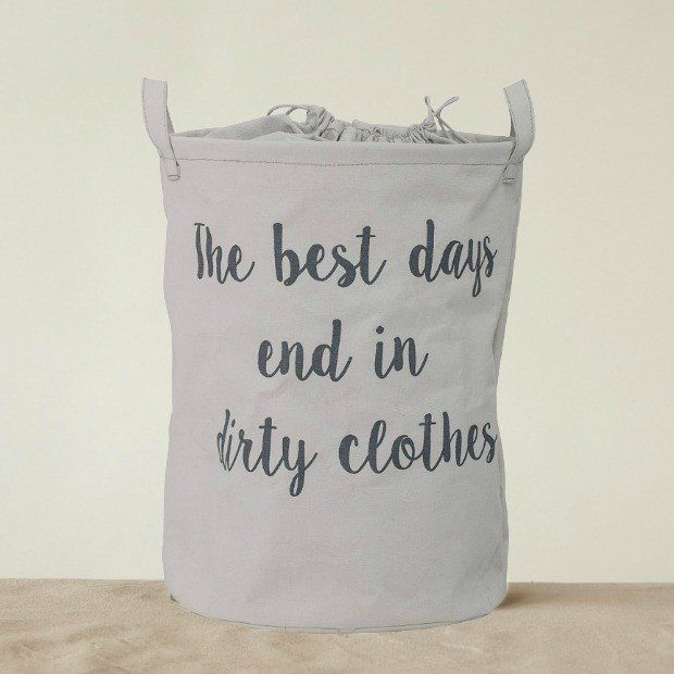 The Best Days End In Dirty Clothes Storage Bag