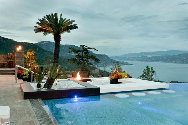 Best 25 swim up bar ideas on pinterest up bar dream for Pool design kelowna