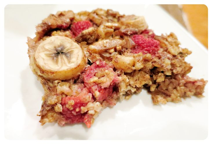 21 Day Fix Fruity Oatmeal Bake ::  http://potentially-lovely.com