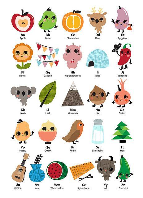 fun doodly alphabet