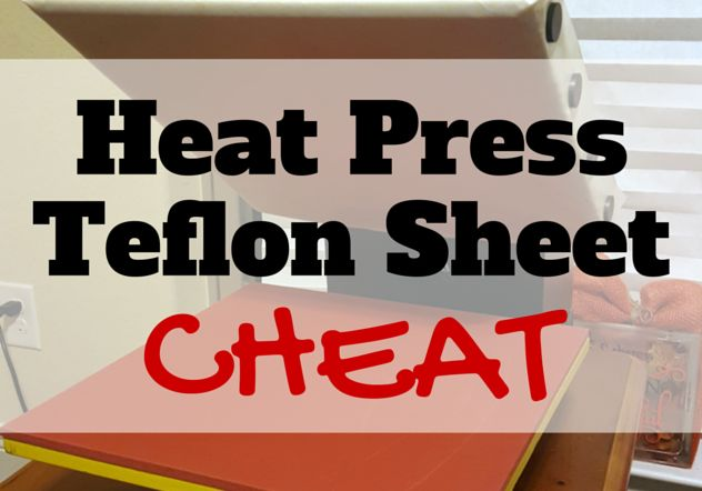 Heat Press Teflon Sheet Hack: It's All About the Magnets!