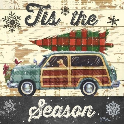 Christmas Plaid Woody by Geoff Allen | Ruth Levison Design