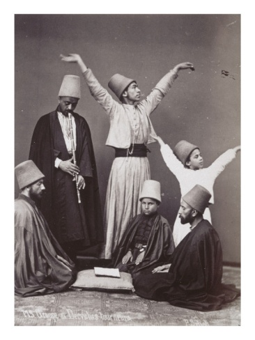 Group of whirling dervishes  art.co.uk