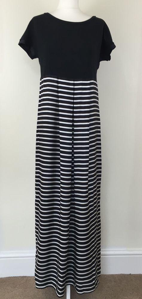 Maxmara Weekend Silk Blend Maxi Dress New Size M/UK 12 #Maxmara #Maxi #SummerBeach