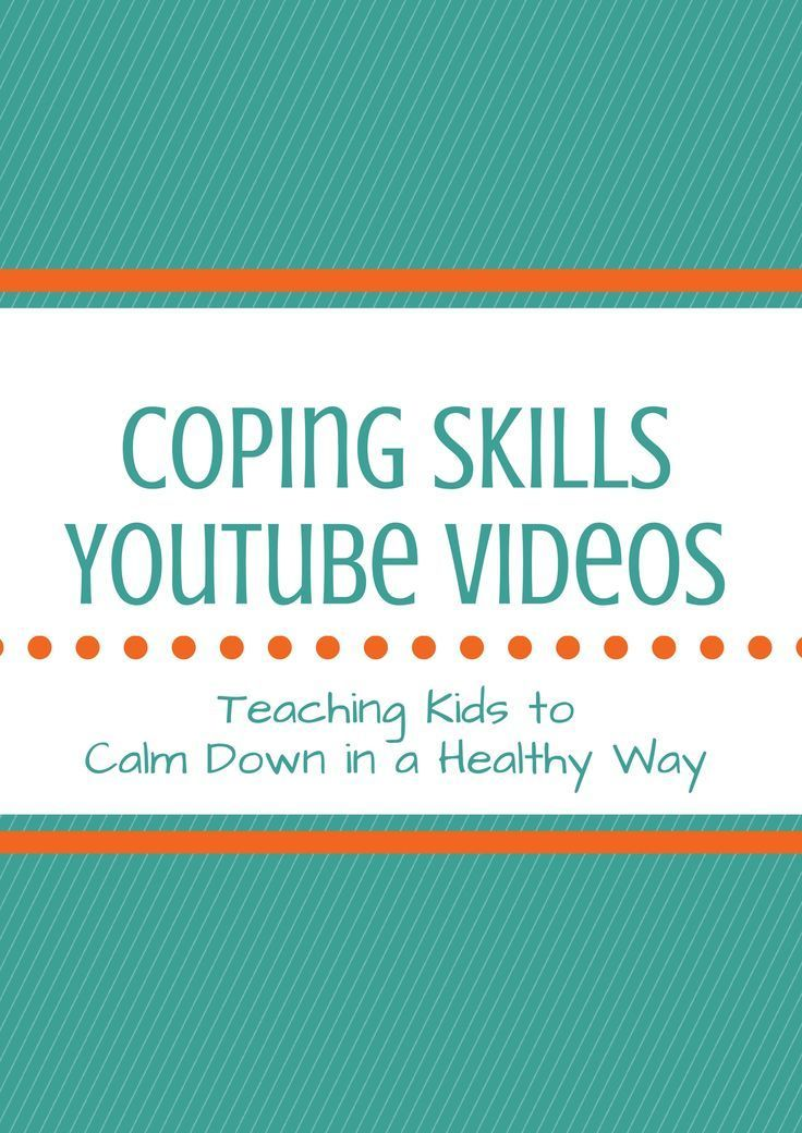 Some kids struggle with self-regulation. Youtube has several coping skills videos to help kids calm down and manage their emotions in a positive way.