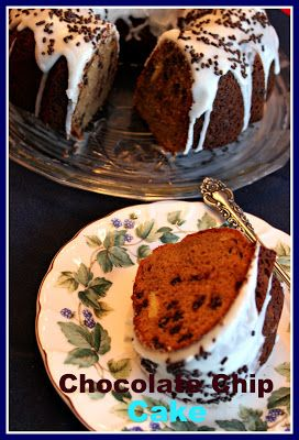 Sweet Tea and Cornbread: Chocolate Chip Pound Cake!