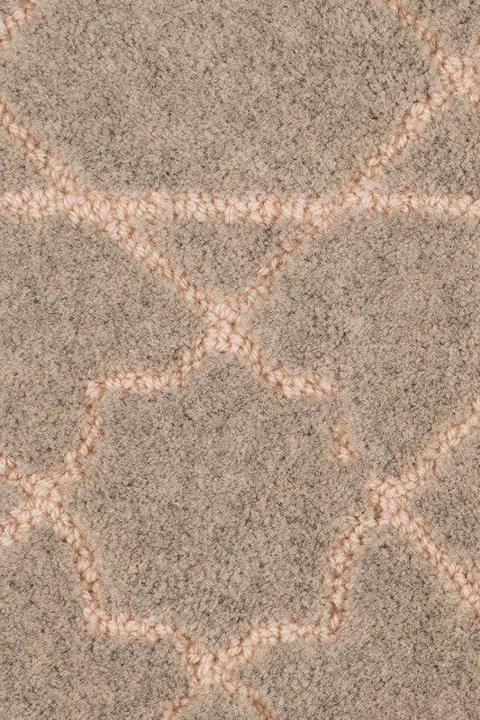 Riadh Wool U0026 Linen Rug In Flurry Colorway, By Merida.