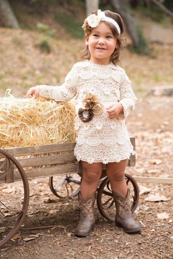 17 Best ideas about Rustic Flower Girl Dresses on Pinterest ...
