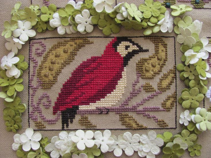 By The Bay Needleart Designs: Birds Of A Funky Feather #6