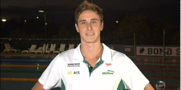 Swimmer Cameron McEvoy Really Enjoyed Choosing Between NASA And The Olympics