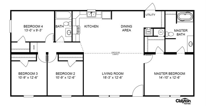 111323422013176999 besides Pid 10602258 in addition 26 Amazing Manufactured Home Floor Plans moreover  on clayton homes louisville ky