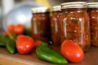 Salsa aux tomates et chipote grillés