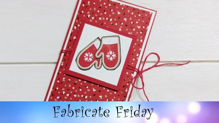 Gift Card Holder featuring Stampin' Up! Products