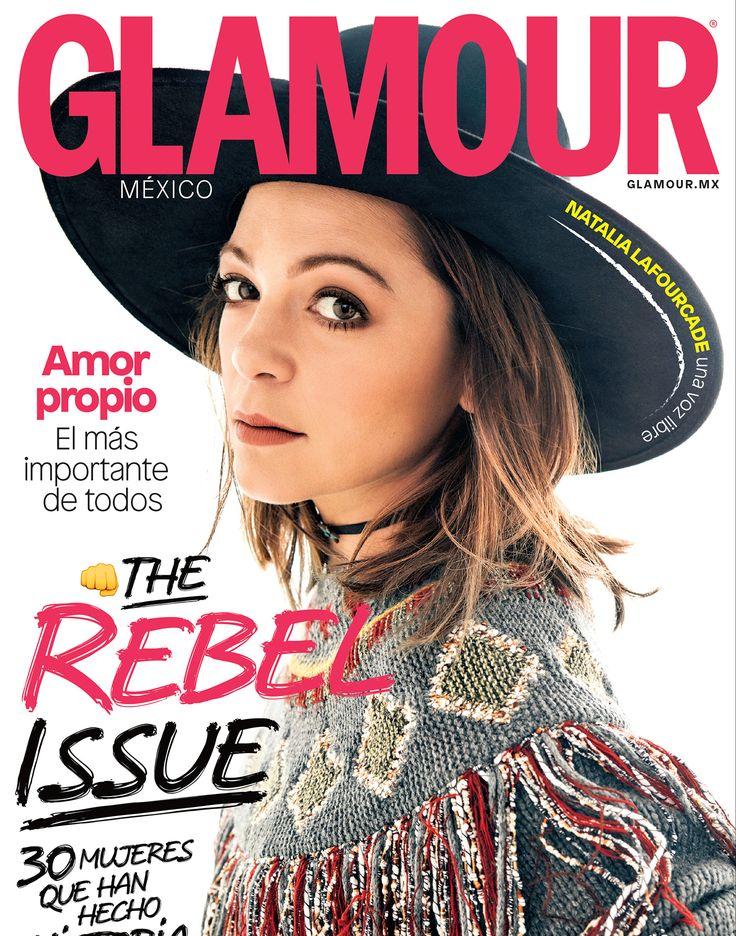 .@lafourcade llega a #ElNuevoGlamour en febrero y demuestra por qué, además de ser una de las cantantes mexicanas más talentosas, ¡es una rebelde con causa! #TheRebelIssue