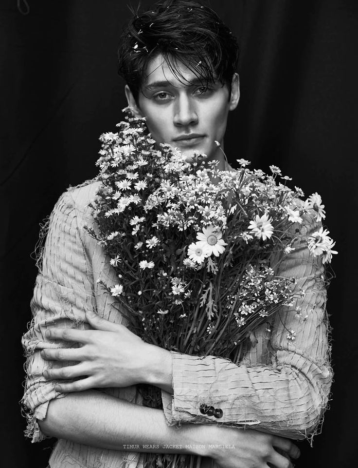 Boyhood: Models are Serene for Elsewhere Cover Shoot