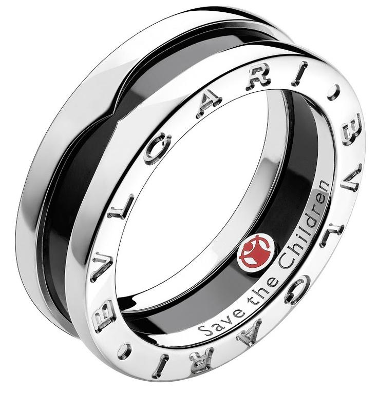 this unisex bvlgari ring supports save the children
