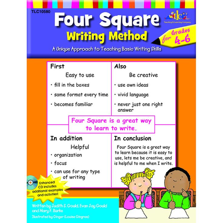 Innovative Classroom Approach ~ Best four square writing ideas on pinterest