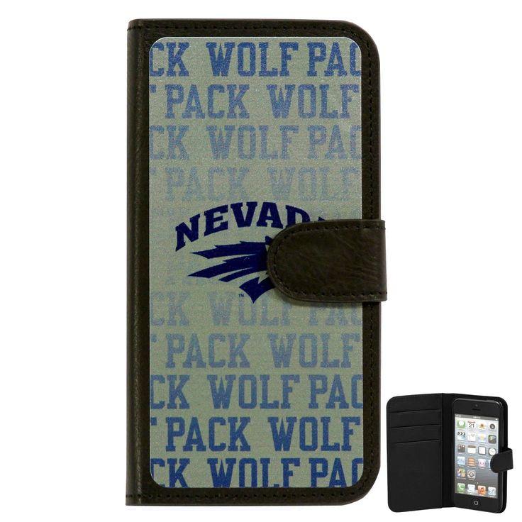 Nevada Wolf Pack Watermark iPhone 5 Wallet - $24.69
