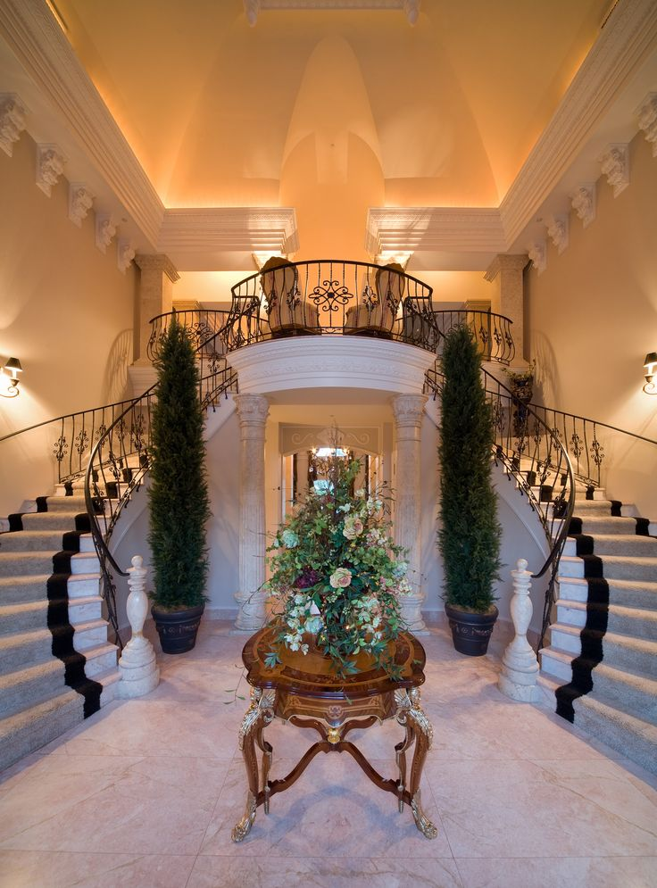 77 Best Grand Staircases Images On Pinterest