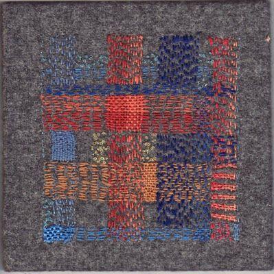 Darning, plaid, knit, wool, sweater, masculine, men, mending, darning