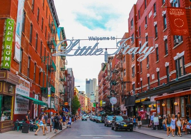 Little Italy New York | Mulberry Street, the heart of NYC's Little Italy Photo: Jeff Dobbins