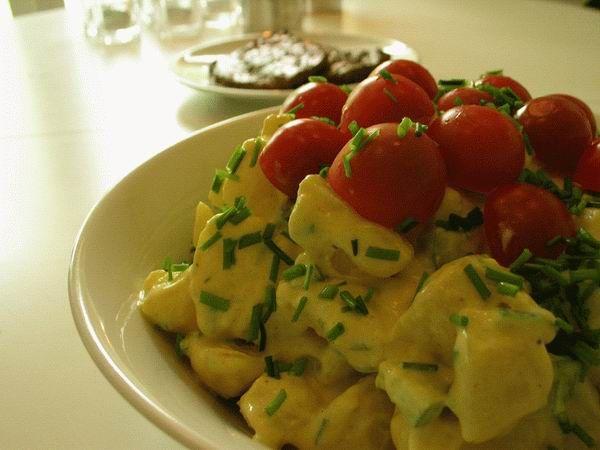 Verdens bedste kartoffelsalat....