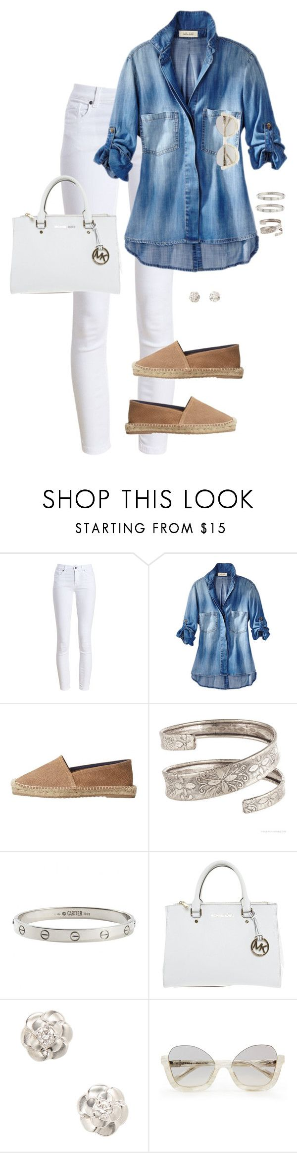 """Allow"" by ccoss on Polyvore featuring Barbour, MANGO, Cartier, Michael Kors and Chanel"