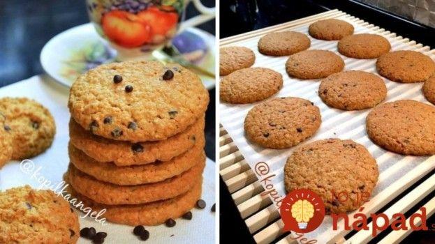 Raňajkové sušienky z ovsených vločiek